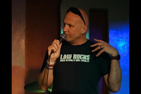 Damian Hickman, Law Rocks